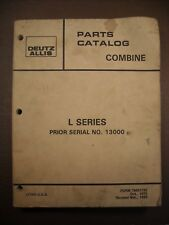 Used L Gleaner Combine Parts Catalog Manual 79001732