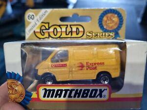 MATCHBOX GOLD SERIES  MODEL AUSTRALIA POST EXPRESS POST   MB60 FORD TRANSIT