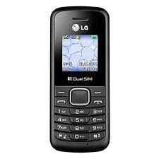 New LG B220A Unlocked GSM Quad-Band Dual SIM Phone (Black)