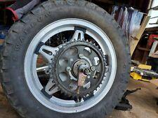 1978 Honda CB750A  COMPLETE rear Wheel Brakes.