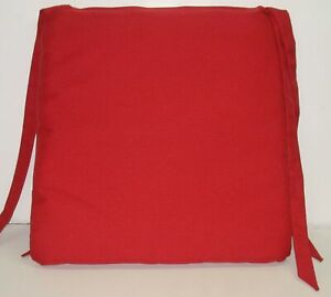"""Outdoor Patio Seat Pad ~ Ruby Solid ~ 20"""" x 20"""" x 2.25"""" **NEW**"""
