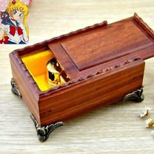 CLASSICAL RED SANDALWOOD MUSIC BOX : Sailor Moon Theme Soundtrack