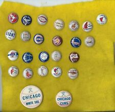 1940's - 50's Baseball St Louis Cardinals  ( Bird  Batting  ) Pin Last pin row 1