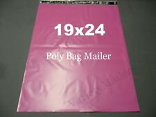 20 Pink Poly Bag Mailers 19x24 Extra Large Shipping Bags