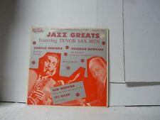 "JAZZ GREATS TENOR SAX MEN FROM 1955 Royale 18154 Ventura Hawkins MONO 10"" LP   #"