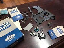 NOS OEM Ford 1963 1964 Galaxie Carburetor Rebuild Kit 1V FOMOCO 1100 C3AZ-9590