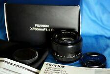 FUJIFILM Fuji Fujinon XF 35mm F/1.4 R Super EBC Black Prime Lens in Box
