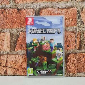 Nintendo Switch Minecraft Game Mojang 7+