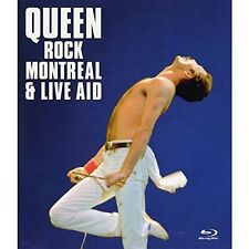 QUEEN - ROCK MONTREAL & LIVE AID  BLU-RAY NEW+