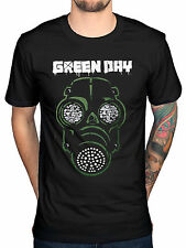 Official Green Day Green Mask T-Shirt Bullet In A Bible Amercian Idiot Dookie Ni