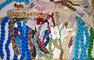 Assorted Threads from The Thread Gatherer -Silk, Linen, Flax, partials + Silks