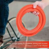 24*1 3/8 Durable Road Bicycle Tire Solid Tube Explosion-Proof Tire Fixed Gear