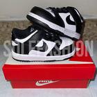 Nike Dunk Low Panda White/Black-White TD Size 6C Brand New
