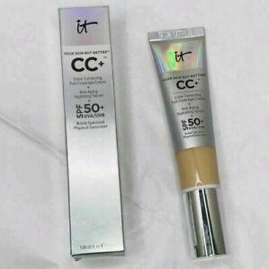 IT Cosmetics Your Skin But Better CC+ Cream Serum FULL COVERAGE LIGHT/MEDIUM