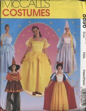 Halloween costume pattern princess witch Rupunzel Cinderella Belle Snow White FF