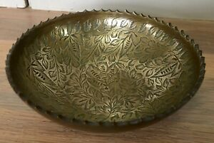 Vintage Small India Brass Bowl