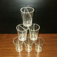 Twisted shot glasses Set of 6