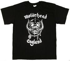 MOTORHEAD ENGLAND T-shirt Lemmy Heavy Metal Rock WAR PIG Tee Men  New