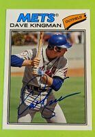 2012 Topps Archives Fan Favorites Dave Kingman on car Auto!