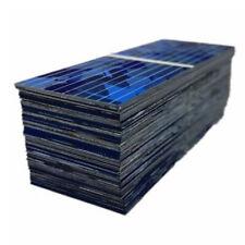 100pcs 0.5V 320mA Mini Solar Battery Panels Cell DIY Battery Charge 52*19mm Kit