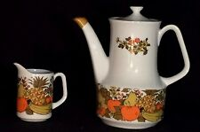 Vintage Stylecraft Teapot with Matching Creamer