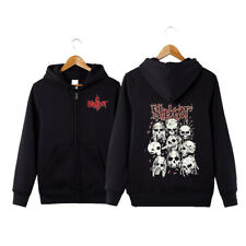 Slipknot Hoodie Fleece Hooded Sweatshirt Zip Up Jacket Unisex Spring Casual Coat