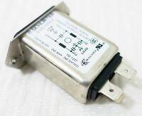 SCHURTER 5120.1006.0 IEC 250 V 10 A Screw On Rear Side Appliance Inlet Filtered