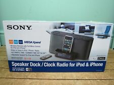 Radio Reloj/Sony Speaker Dock para iPod e iPhone