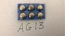 6x AG13 SR44 LR44 A76 376 1.5V Alkaline button cell batteries watch calculator
