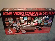 New Sealed Atari 2600 VCS Video Computer SystemConsole Promotional Rare