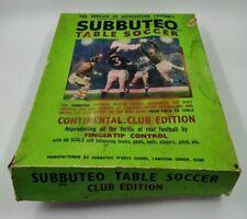 Vintage Job Lot Subbuteo Continental Club Edition Table Football Boxed & Extras