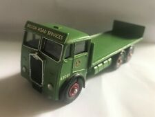 WHITE METAL ALBION FLAT TRUCK - BRITISH ROAD SERVICES