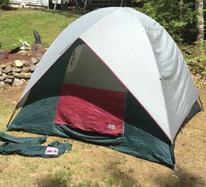 Eureka Tetragon - 4 Person Free Standing Tent, About 8' X 7 1/2' Read Descrip