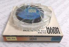Genuine Hoya 43.5mm 80B 80-B 80 B Blue Glass Lens Filter 43.5 mm Japan OEM