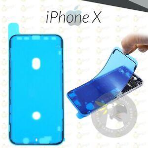 ADESIVO APPLE IPHONE X BIADESIVO DISPLAY GUARNIZIONE FISSAGGIO SCHERMO LCD