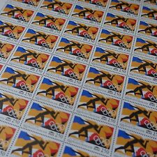 FEUILLE SHEET TIMBRE JEUX OLYMPIQUES BARCELONE N°2745 x50 1992 NEUF ** LUXE MNH