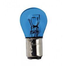Blue Dyed Glass, Lampada 2 filamenti 12V - P21/5W Luce bianca