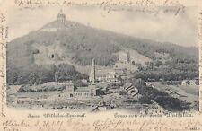 Gruss von der Porta Westfalica AK 1901 Nordrhein-Westfalen 1804476