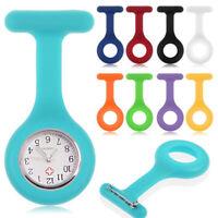 1 x Silicone High Quality Nurse Watch Brooch Fob Pocket Tunic Movement Watch