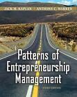 Patterns of Entrepreneurship Management (Wiley), Jack M. Kaplan, Anthony Warren,