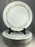 "7 Sheffield China Fine China ELEGANCE #502 Pattern 10 1/4"" Dinner Plates"