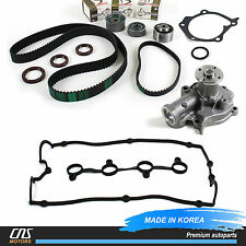 Timing Belt Kit Water Pump Valve Cover Gasket Fits 99-06 Hyundai Kia 2.4L G4JS