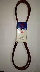 "70080-01201 Belt for Kubota B445 Mid Mount Mower 1/2"" X 98"" Aramid Cord"
