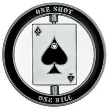 Sniper Specialist Marksman - One Shot Spinner Challenge Coin – Gift for Men