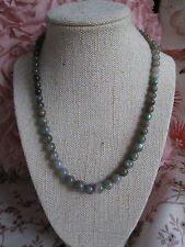 ~ Natural Graduating Labradorite Gemstone Necklace ~  Jewellery ~