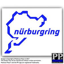 Nurburgring Sticker-Car,Van,Window Sign-Race Longest Racing Track - 112mm x 87mm