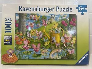 Ravensburger - 100pc Fairy Playland Jigsaw Puzzle 10602-8  - Brand New