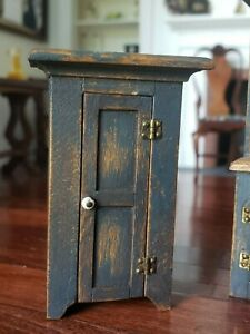 1/2 Scale Dollhouse Miniature Artisan CJ's Jelly Cabinet Signed 1:24