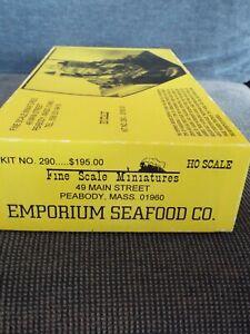 Fine Scale Miniatures EMPORIUM SEAFOOD  kit  FSM  new   efpacrp