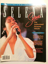 Selena Authorized Pictorial Tribute Magazine Limited Edition 1995